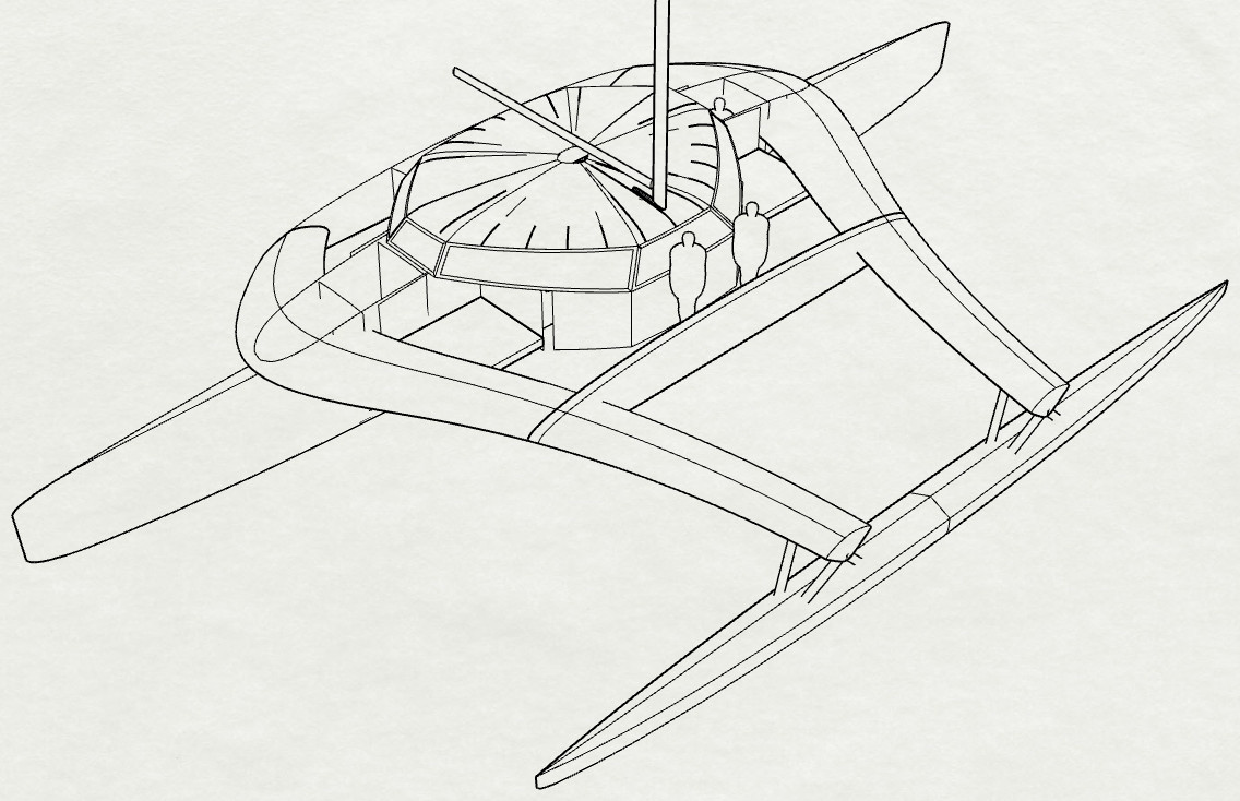 Proa sketches in Rhino/Grasshopper CAD, April/May, 2018
